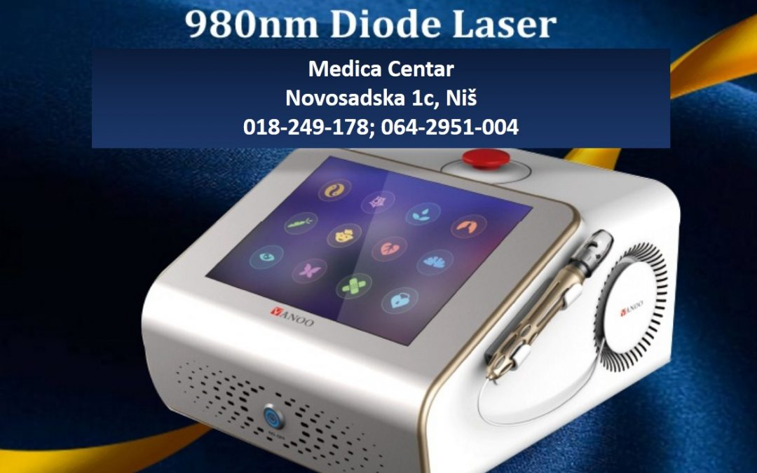 Uklanjanje proširenih kapilara diodnim laserom 980 nm